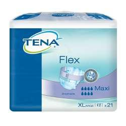Sklep medyczny - Pieluchomajtki Tena Flex Maxi XL 21 szt. SCA- TENA - Pieluchomajtki dla dorosłych - Refundacja NFZ -Niska cena