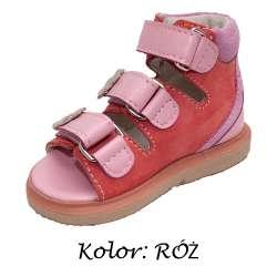 Skórzane sandałki dziecięce 957-12/Z rozm. 19-24 RENA