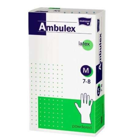 Rękawiczki nitrylowe pudrowane Ambulex TZMO