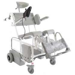 Krzesło toaletowo-kąpielowe HMN M2 EL-Tip z joystickiem LeviCare