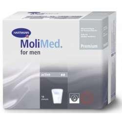 Sklep medyczny - Wkładki urologiczne MoliMed Men Active 14 szt. - HARTMANN - wkładki urologiczne męskie - Refundacja NFZ - Tanio