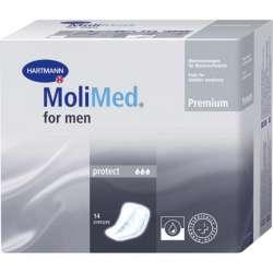 Sklep medyczny - Wkładki urologiczne MoliMed Men Protect 14 szt. -HARTMANN- wkładki urologiczne męskie - Refundacja NFZ - Tanio