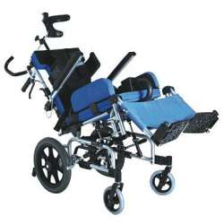 Wózek inwalidzki aluminiowy dla dzieci z porażeniem mózgowym KARMA CP-33 ANTAR