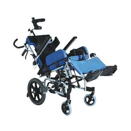 Wózek inwalidzki aluminiowy dla dzieci z porażeniem mózgowym KARMA KM-CP33