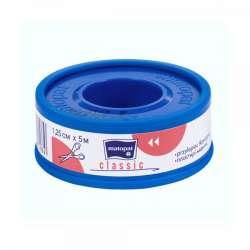 Przylepiec CLASSIC 1,25cmx5m tkaninowy TZMO MATOPAT