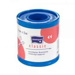 Przylepiec CLASSIC 5cmx5m tkaninowy TZMO MATOPAT