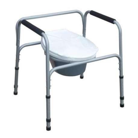 Krzesło toaletowe z uchwytami bocznymi AT01001 ANTAR