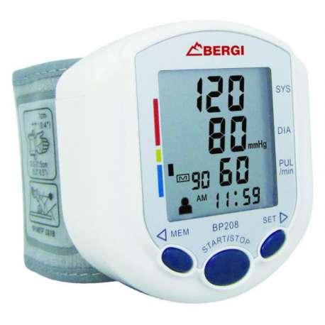 Ciśnieniomierz automatyczny nadgarstkowy Bergi ANTAR BP 208