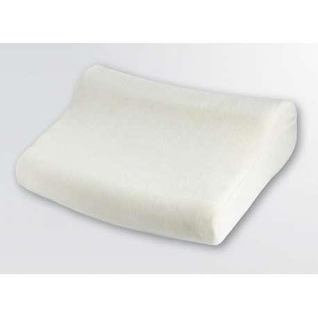 Poduszka ortopedyczna z pamięcią, z rowkami masującymi AT03007