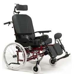 Wózek specjalny multipozycyjny dla osób ważących 150 kg EZ1 - VERMEIREN