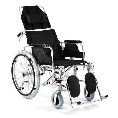 Wózek inwalidzki aluminiowy stabilizujący plecy i głowę FS 954 LGC TIMAGO