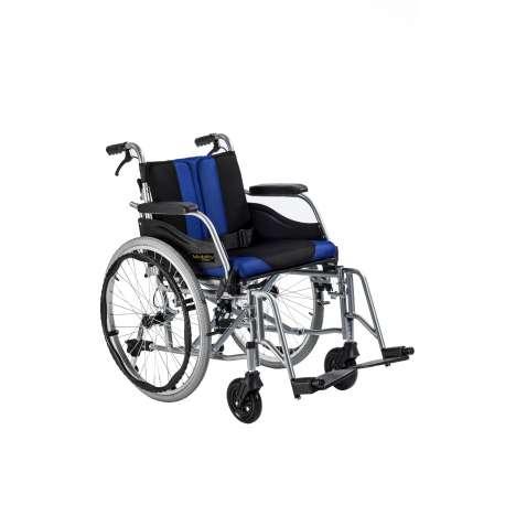 Wózek inwalidzki aluminiowy z łamanym oparciem i odpinaną tapicerką TGR-R WA C2600 TIMAGO