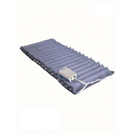 Sklep medyczny-Zestaw przeciwodleżynowy materac rurowy + pompa do 150kg GM-3000/IC - TIMAGO - Materace przeciwodleżynowe-Tanio