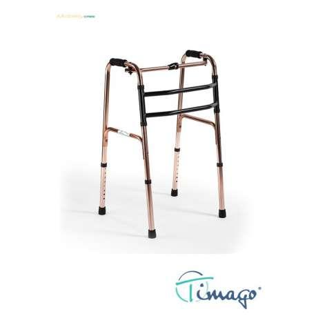 Sklep medyczny - Balkonik rehabilitacyjny kroczący składany JMC-C 3211 - TIMAGO - Balkoniki i podpórki rehabilitacyjne - Tanio