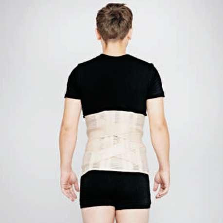 Sklep medyczny - wysoka sznurowana orteza piersiowo–lędźwiowo-krzyżowa 400 - RENA - ortezy na kręgosłup - Tanio