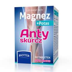 Magnez plus Potas Antyskurcz DIAGNOSIS
