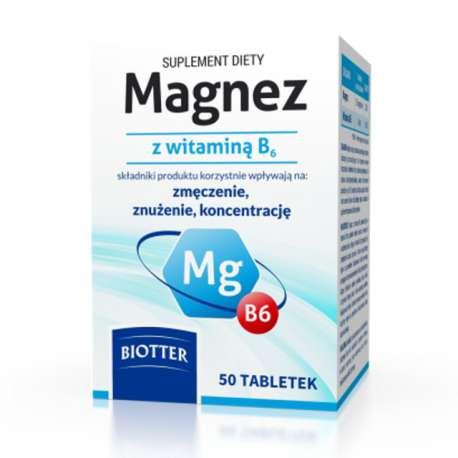 Magnez z witaminą B6 DIAGNOSIS