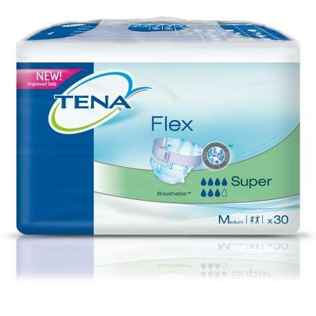 Sklep medyczny - Pieluchomajtki dla dorosłych Tena Flex Super M 30 szt - nietrzymanie moczu wyrób medyczny SCA - Refundacja NFZ!