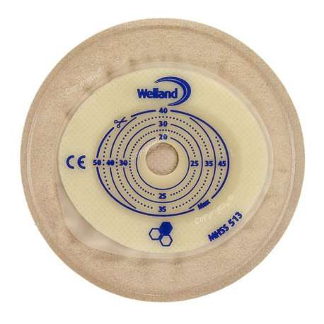 Sklep medyczny-Worek kolostomijny jednoczęściowy Aurum Stomacap z miodem manuka beżowy - WELLAND MEDICAL - Refundacja NFZ -Tanio