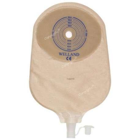 Sklep medyczny - Worek urostomijny jednoczęściowy Flair Active Urostomy przeźroczysty-WELLAND MEDICAL- XPUR713 -Tanio