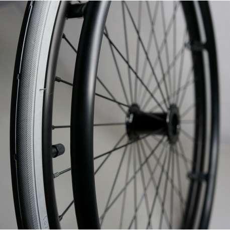 Sklep medyczny - Koło do wózka inwalidzkiego 20x1 (28 szprych) - RECOMEDIC- koła do wózków inwalidzkich - Tanio