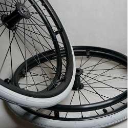 Koło do wózka inwalidzkiego 22x1 (36 szprych) RECOMEDIC