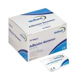 Gaziki do zmywania skóry Welland Adhesive Remover bezalkoholowe WAD050 WELLAND MEDICAL