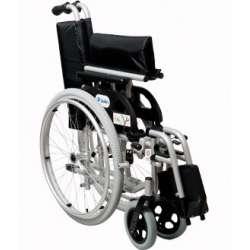 Sklep medyczny - Wózek inwalidzki aluminiowy Marlin - MOBILEX - wózek składany ręczny - Refundacja NFZ! Niska cena!