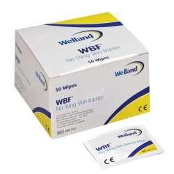 Gaziki z płynem ochronnym do pielęgnacji stomii bezalkoholowe Barrier Film WBF050 WELLAND MEDICAL