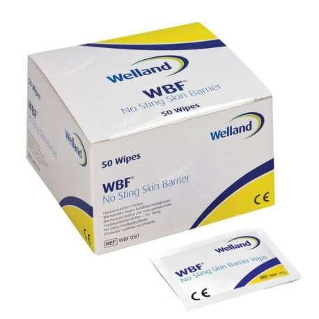 Sklep medyczny - Gaziki z płynem ochronnym Welland Barrier Film bezalkoholowe WBF050 - WELLAND MEDICAL - Tanio