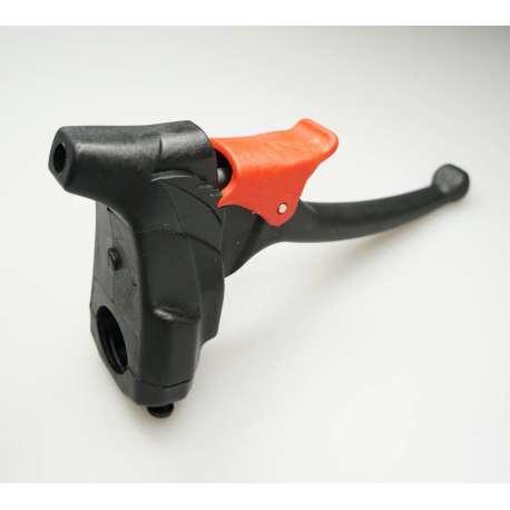 Sklep medyczny- Hamlec ręczny z tworzywa, na rurę 22mm, 25mm blokada regulowana z czterema zapadkami RECOMEDIC- Tanio