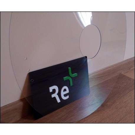 """Sklep medyczny - Osłona szprychy koła 20"""" do wózka inwalidzkiego materiał polycarbonat 1,5 mm -RECOMEDIC- Niska cena"""