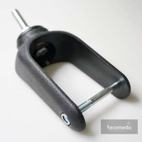 Sklep medyczny - Widelec plastikowy do kół o średnicy 200mm WT-200-60-I do wózków inwalidzkich- RECOMEDIC - Tanio