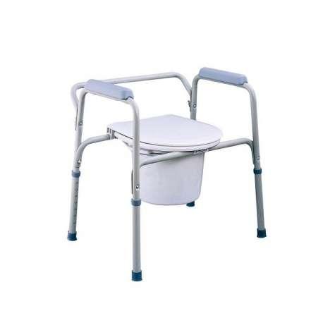 Sklep medyczny - Krzesło toaletowe dla niepełnosprawnych stałe TGR-R KT-S 668- Sprzęt toaletowy-TIMAGO- Tanio