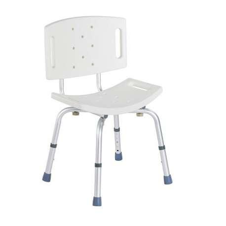 Sklep medyczny - Taboret prysznicowy z oparciem FS 798L -TIMAGO- wyposażenie łazienki dla niepełnosprawnych- Tanio