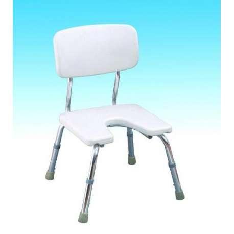 Krzesło pod prysznic w wyciętym siedziskiem CA 352L ANTAR