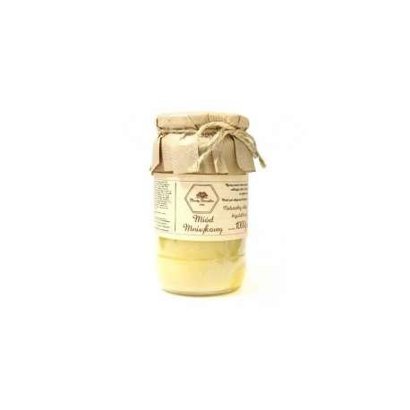 Sklep medyczny - Miód mniszkowy naturalny 380 g MIODY DWORSKIE - właściwości zdrowotne - na przeziębienia - Niska cena