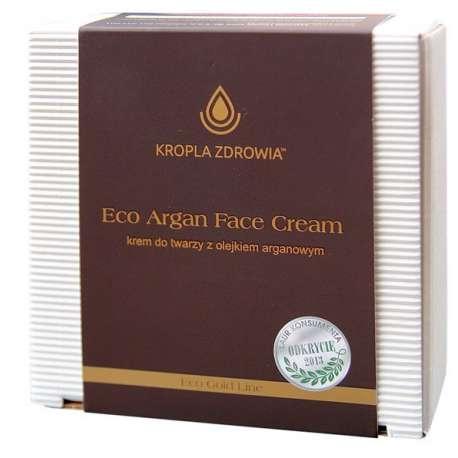 sklep medyczny  - Eco Argan Face Cream Krem Do Twarzy z Olejkiem Arganowym MARMED HEALTH CARE - pilęgnacja twarzy - tanio