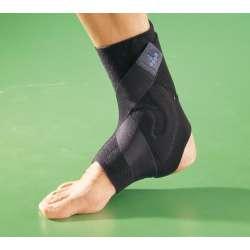 Sklep medyczny - Stabilizator stawu skokowego ze wzmocnieniem OPPO 1109 - na skręcenie, dla sportowców, do biegania - Niska cena