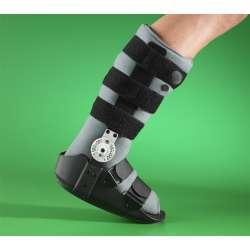 """Pneumatyczny stabilizator stawu skokowego i stopy typu """"but"""" z regulacją kąta nachylenia"""