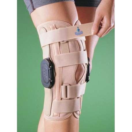 Sklep medyczny - Orteza kolanowa z podwójnym zegarem OPPO 2137 - stabilizująca kolana więzadła rekonstrukcja - Niska cena!