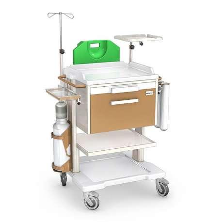 Wózek reanimacyjny OR-1ABSb TECH-MED