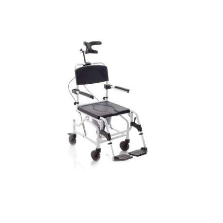 Krzesło kąpielowo-toaletowe Moretti z podparciem głowy LEVICARE