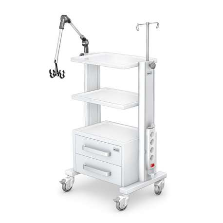 Stolik pod aparaturę medyczną serii K-1 G-002 TECH-MED