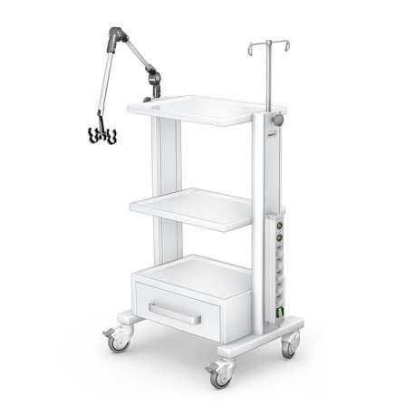 Stolik pod aparaturę medyczną serii K-1 G-004 TECH-MED