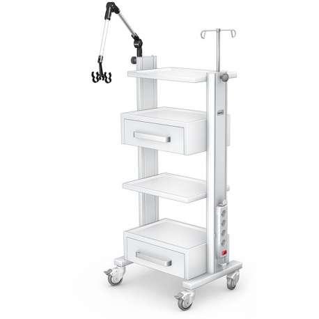 Stolik pod aparaturę medyczną serii K-1 G-006 TECH-MED