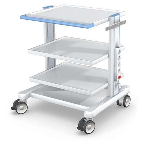 Wózek pod aparaturę medyczną serii APAR-2 AR80-1 TECH-MED