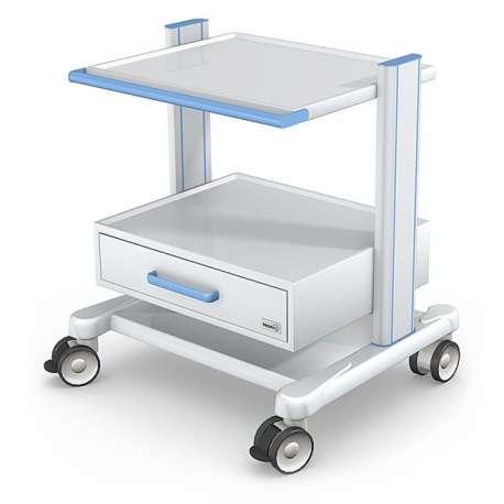 Wózek pod aparaturę medyczną serii APAR-2 AR80-2 TECH-MED