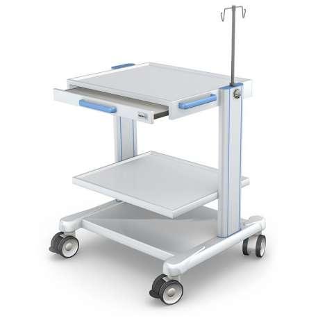 Tani Sklep Medyczny Oferuje - Wózek pod aparaturę medyczną serii APAR-2 AR80-3 TECH-MED - elementy dekoracyjne - Tanio