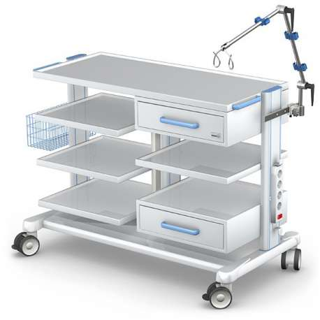 Wózek pod aparaturę medyczną serii APAR-3 PAR100-3TECH-MED